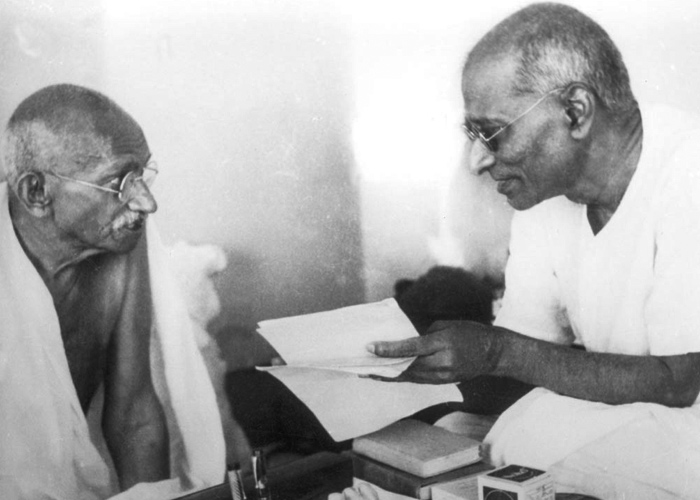 Gandhi and C R Gopalachari