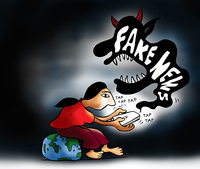 Busting fake news: Who funds whom? - Rediff com India News