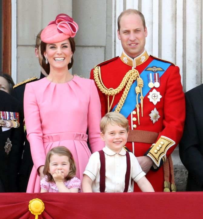 Britain's Prince William And Kate Expecting Third Child