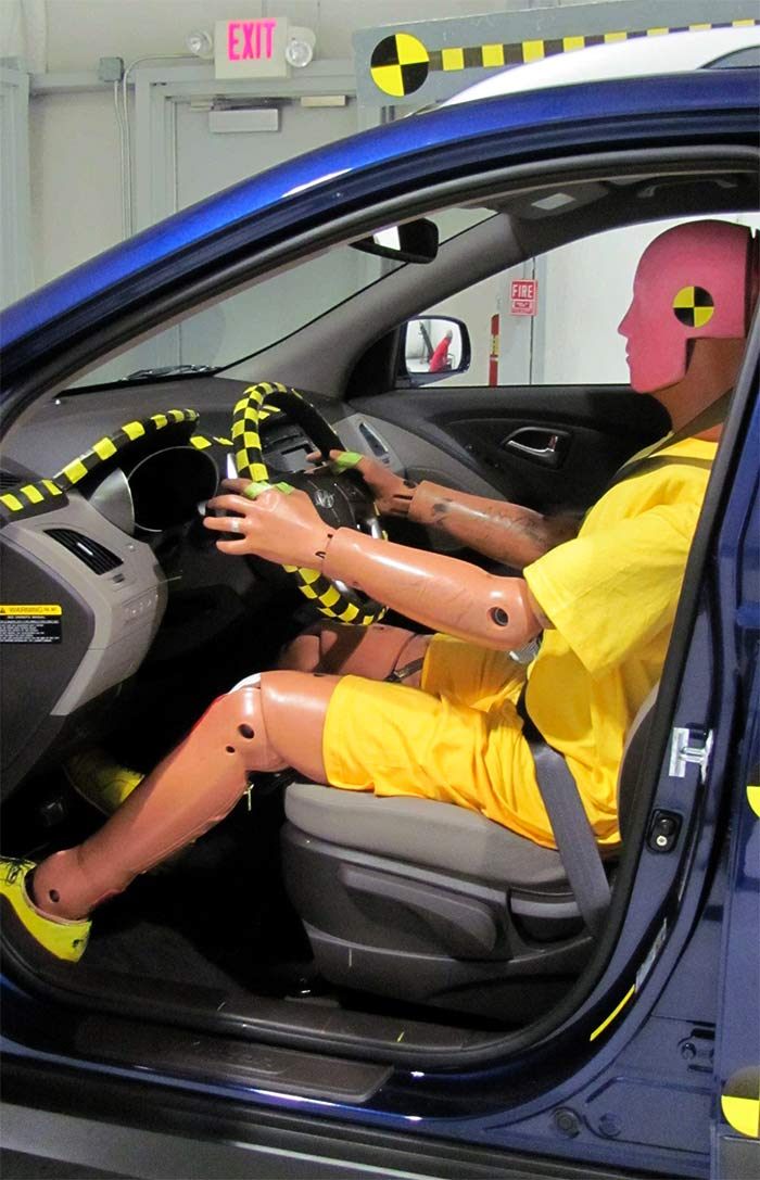 Dummy crash testing. Photo: Brady Holt/Wikimedia Commons