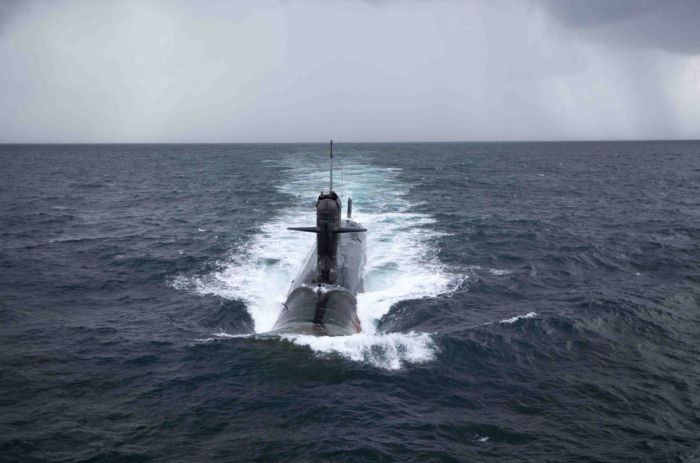 Image result for First Scorpene submarine delivered to Indian Navy