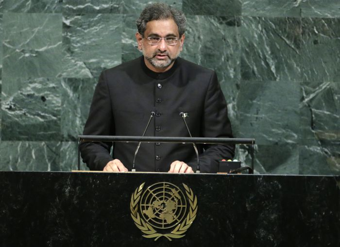 In maiden UNGA address, Pak PM seeks UN intervention in Kashmir