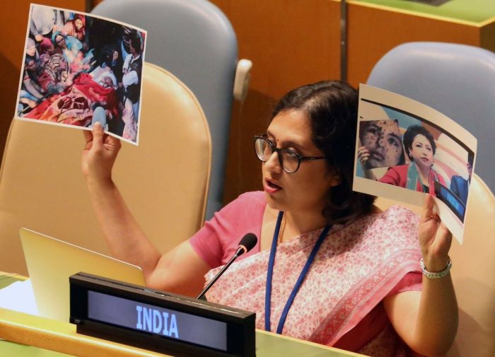 Paulomi Tripathi, Indian diplomat at the Permanent Mission of India to the United Nations