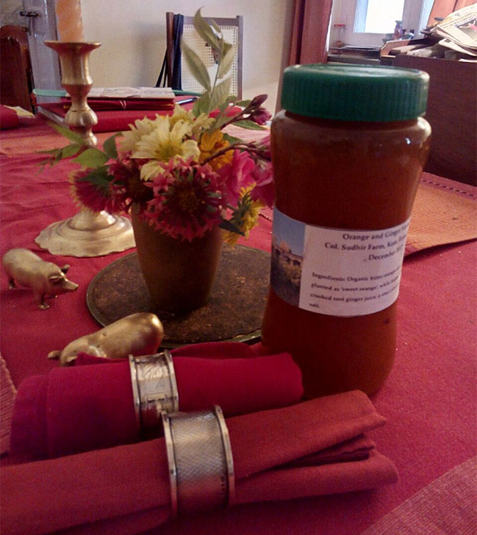 The award-winning marmalade from India on the breakfast table