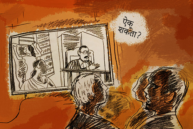 Sheena Bora Trial: Indrani was a dark blob against a jail window