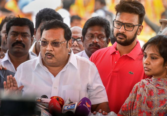 Alagiri accused Stalin of blocking his return to the party