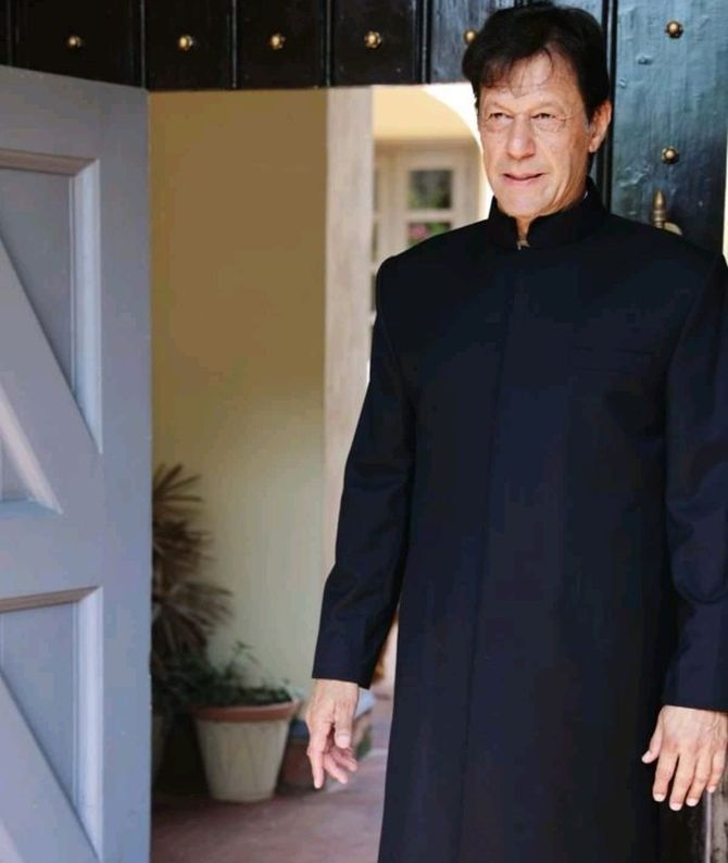 Pakistan's Prime Minister Imran Khan. Photograph: Kind courtesy @PTIofficial/Twitter