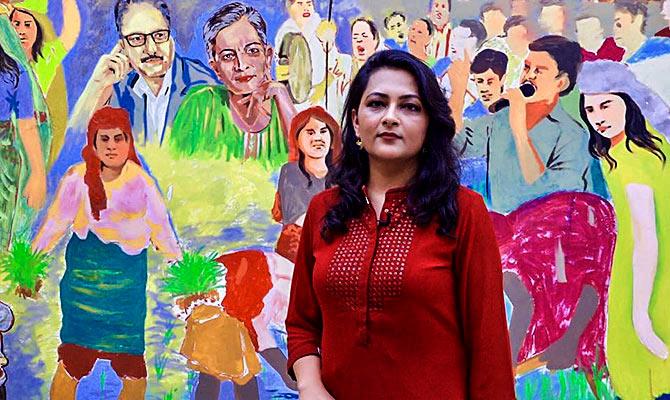 Arfa Khanum Sherwani, Senior Editor, The Wire. Photograph: Kind courtesy Arfa Khanum Sherwani
