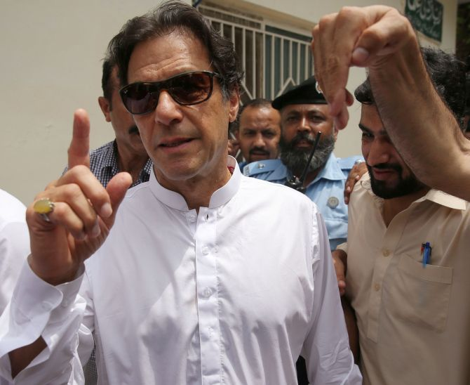 Will handle Jadhav case as per law: Imran