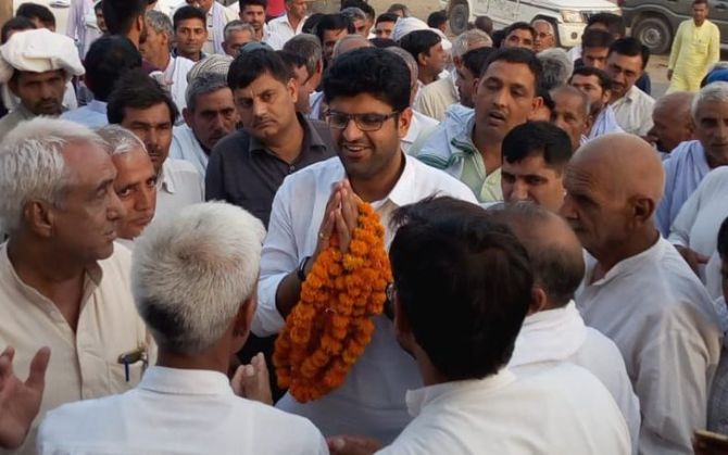 INLD splits; Dushyant Chautala announces launch of new party