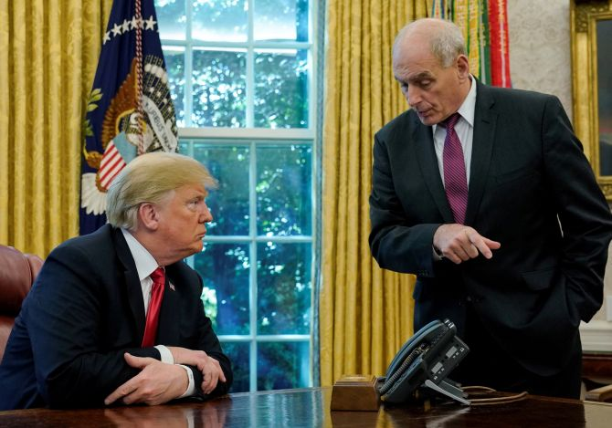 WH Chief of Staff John Kelly to leave by year end: Trump
