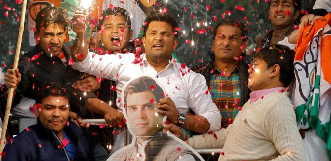 How Congress's gang of 4 unseated BJP in MP