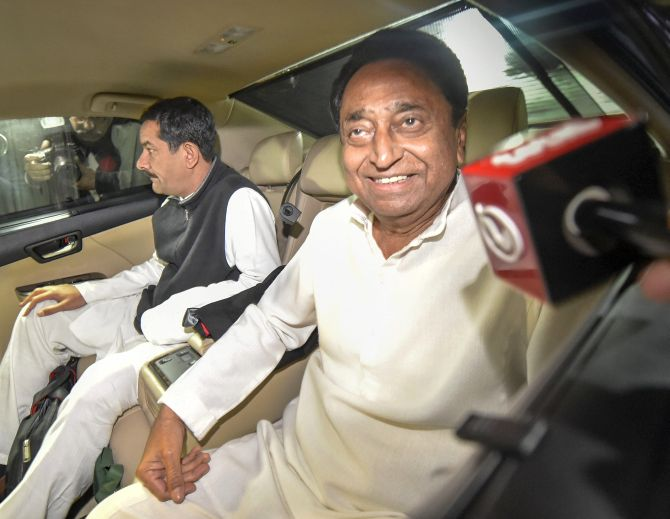 Kamal Nath, man of the match, in Madhya Pradesh