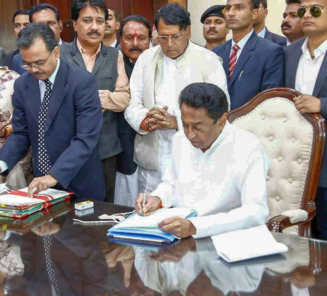First day, first show: Kamal Nath clears farm loan waiver in MP