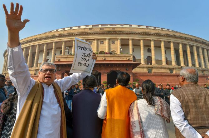 Lok Sabha adjourns after passing Transgender bill, Rajya Sabha does no business