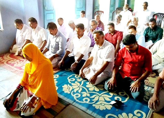 Jamida K is the first Indian Muslim woman to lead the Friday prayers.