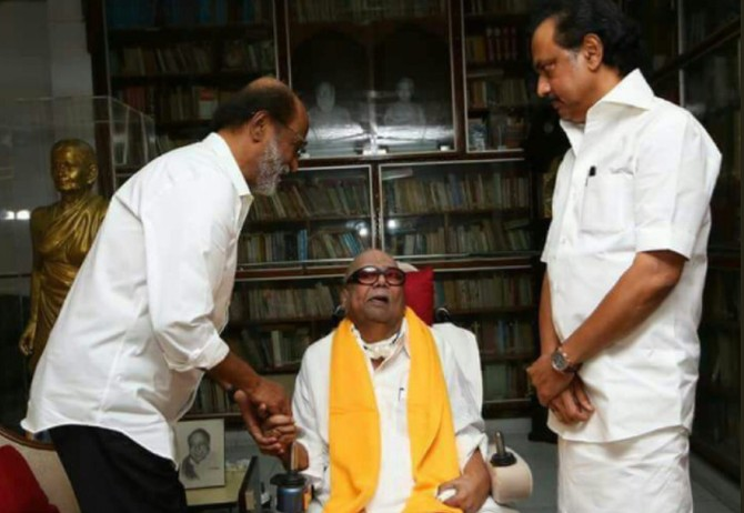 Karunanidhi completes 50 yrs as DMK chief, \'slight decline\' in health