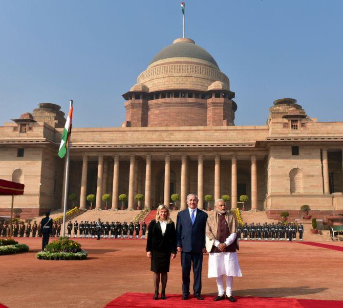 N85 Residence In New Delhi India: Grand Welcome At Rashtrapati Bhavan, Visit To Rajghat