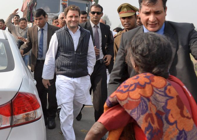 India News - Latest World & Political News - Current News Headlines in India - Rahul's 1st UP visit as Congress chief marred by protests