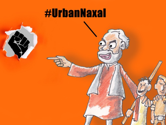 India News - Latest World & Political News - Current News Headlines in India - A propaganda tool called #UrbanNaxal