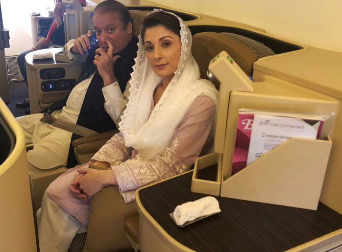India News - Latest World & Political News - Current News Headlines in India - Behind bars for being daughter of Nawaz Sharif: Maryam