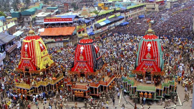 India News - Latest World & Political News - Current News Headlines in India - Lakhs of devotees attend Rath Yatra of Lord Jagannath at Puri