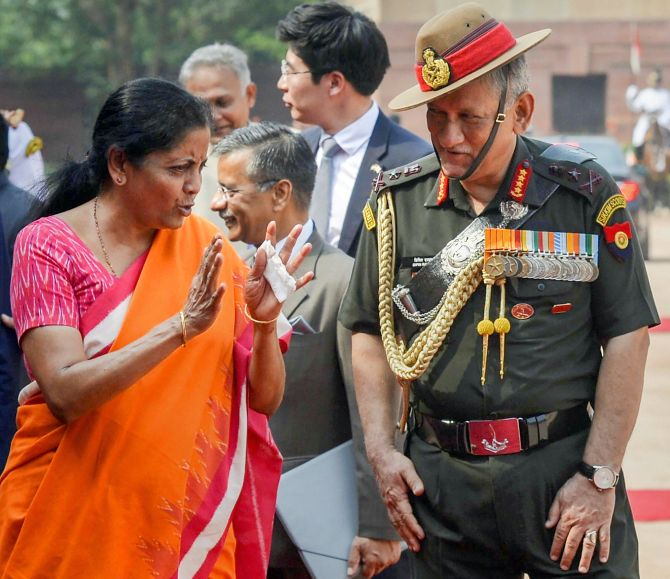 India News - Latest World & Political News - Current News Headlines in India - Indian military is fit and ready: Sitharaman