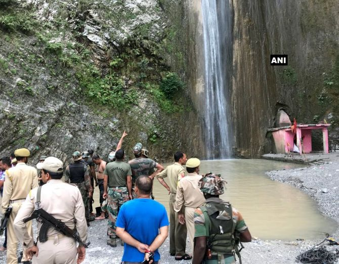India News - Latest World & Political News - Current News Headlines in India - 7 killed, 30 injured as boulder rolls down waterfall in J & K's Reasi