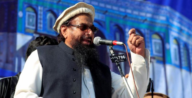 India News - Latest World & Political News - Current News Headlines in India - Terrorist Hafiz Saeed campaigns for Pak polls while Nawaz sits behind bars