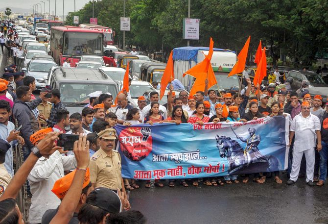 Maha govt approves Maratha quota bill
