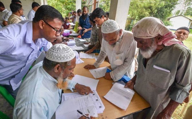 Names of all NRC applicants published online