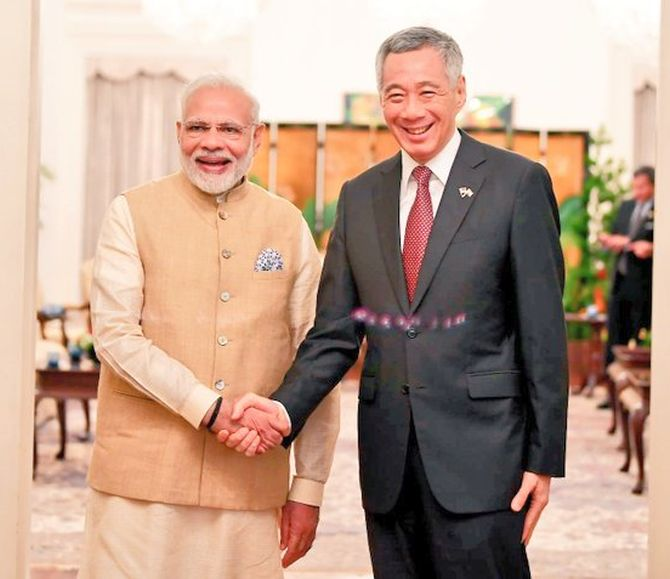 India News - Latest World & Political News - Current News Headlines in India - India, Singapore agree to deepen economic and defence ties