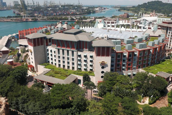 Hunt for trump kim venue leads to singapore 39 s sentosa for Special hotels in the world
