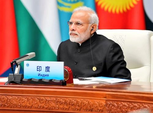 At SCO summit, PM coins new acronym 'SECURE'