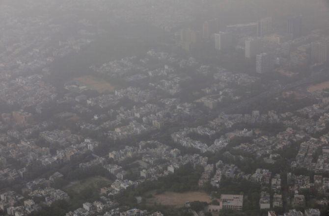 Image result for Haze of dust envelopes