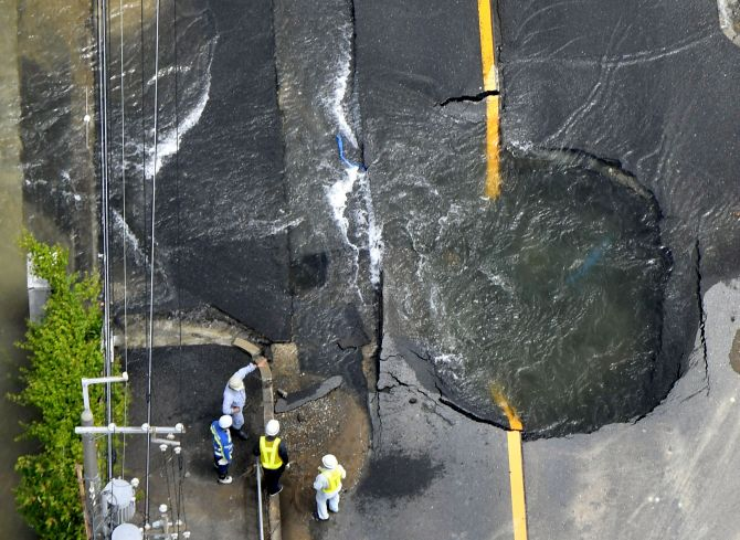 India News - Latest World & Political News - Current News Headlines in India - 3 dead, dozens injured as 6.1 quake hits Japan