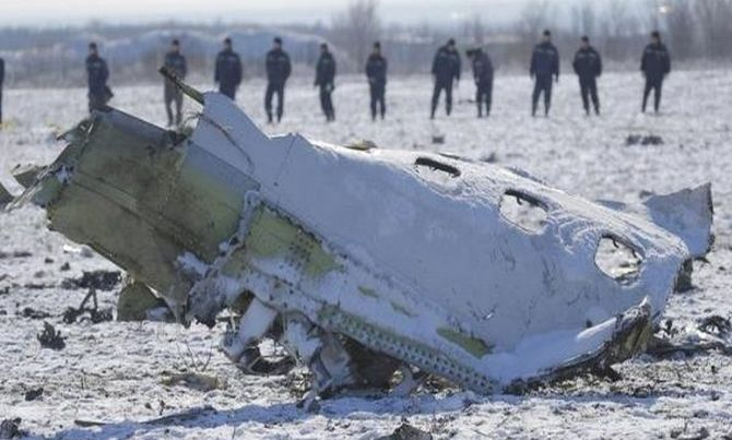 32 killed as Russian cargo plane crashes in Syria - Rediff com India