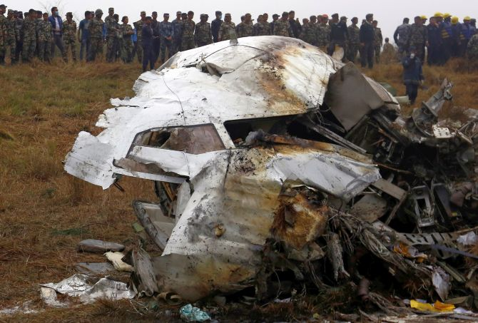 bangladesh plane with 67 on board crashes in nepal 50