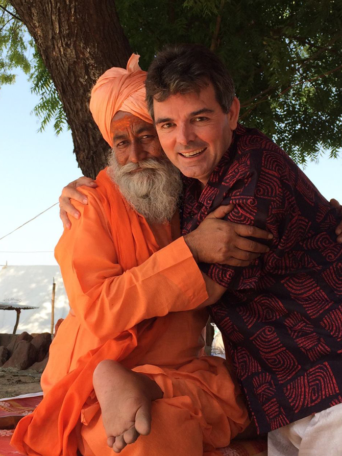 The Hindi-speaking Aussie who loves India - Rediff com India News