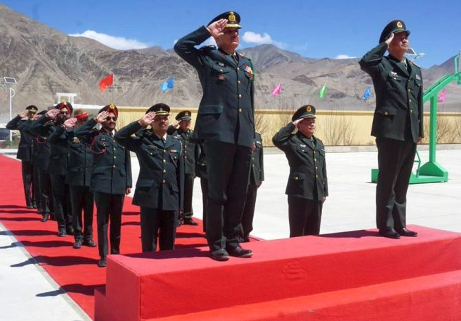 Senior Indian and Chinese army officers met in Chusul, Ladakh, on May 1,  2018, during which both sides resolved to maintain peace and tranquillity along the Line of Actual Control, besides agreeing to work on additional confidence building measures. The meeting followed Prime Minister Narendra D Modi's meeting with China's Supreme Leader Xi Jinping in Wuhan on April 27-28, 2018.