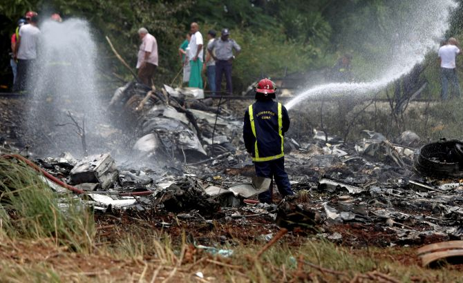 India News - Latest World & Political News - Current News Headlines in India - Cuba plane crash leaves more than 100 dead