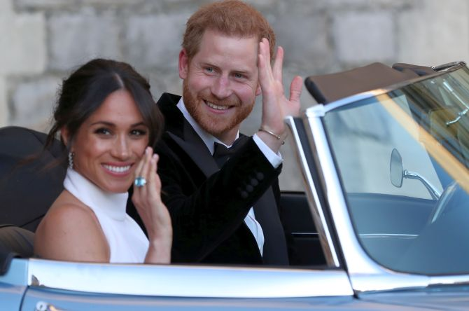 India News - Latest World & Political News - Current News Headlines in India - Fun, frolic and fireworks at Harry-Meghan's wedding