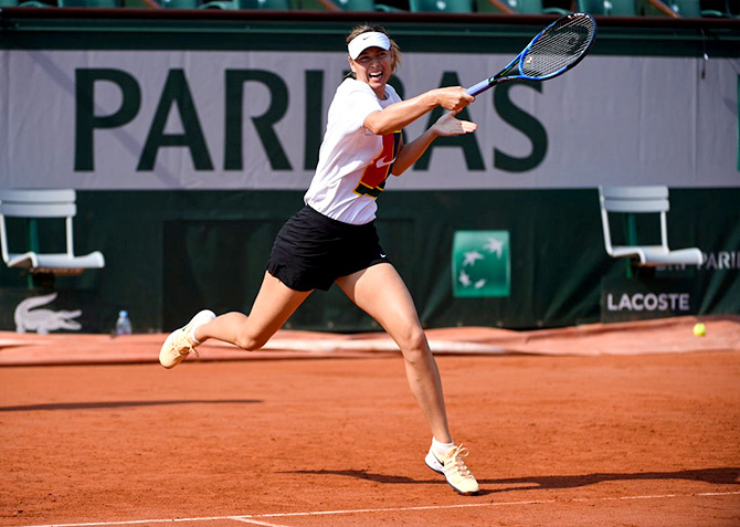 Rediff Sports - Cricket, Indian hockey, Tennis, Football, Chess, Golf - The stars gear up for Roland Garros