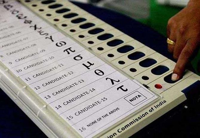 Bihar sees highest number of NOTA votes