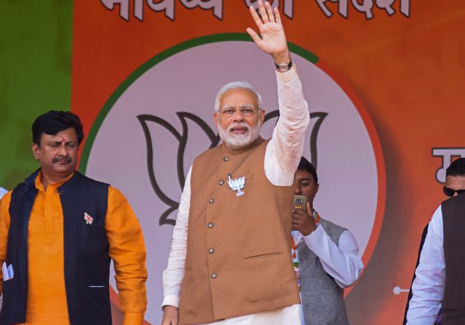 Ensure 'not even a single' Cong candidate is elected: Modi in MP