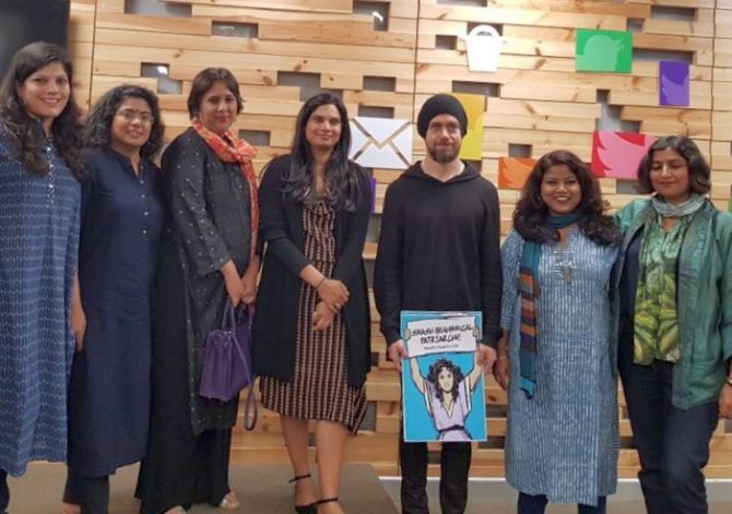 Twitter CEO accused of 'hate-mongering' after holding 'anti-Brahmin' poster