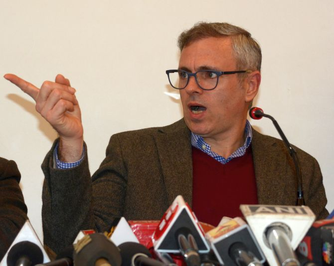 Ram Madhav retracts 'instruction from Pak' remark after Omar Abdullah dare