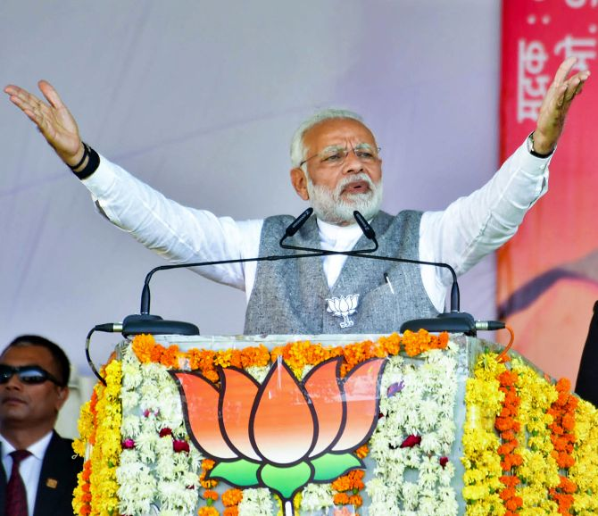 Congress abusing my mother as it lacks strength to fight me: Modi