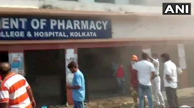 India News - Latest World & Political News - Current News Headlines in India - Fire blazes at Kolkata's Medical College Hospital, patients evacuated