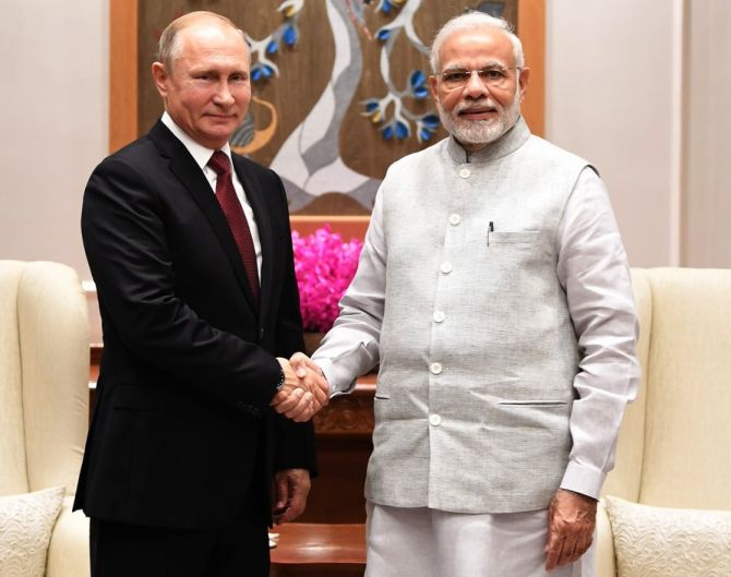 India News - Latest World & Political News - Current News Headlines in India - Putin arrives in India, Modi hosts dinner ahead of official summit